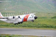 C-130 at Attu Island