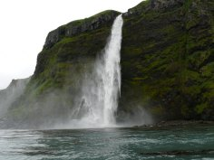 Waterfall on Kanaga Island