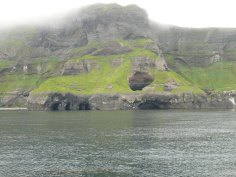 Caves at Battery Point, Akutan Island