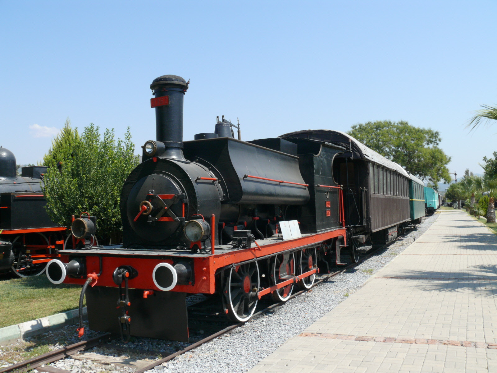 Photos from the Çamlik Railroad Museum, 2009