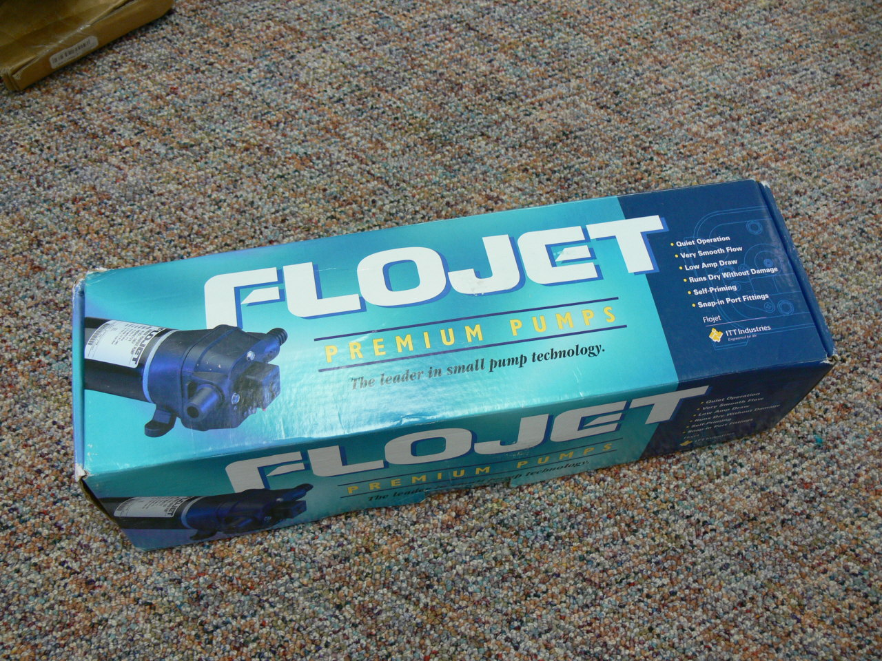 FloJet 4325 Marine Water System, Wash Down Pump, 12v