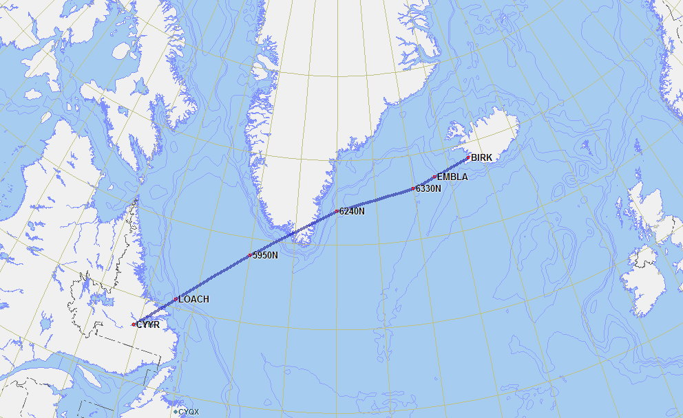 General Aviation Flying To Europe - Airports in iceland