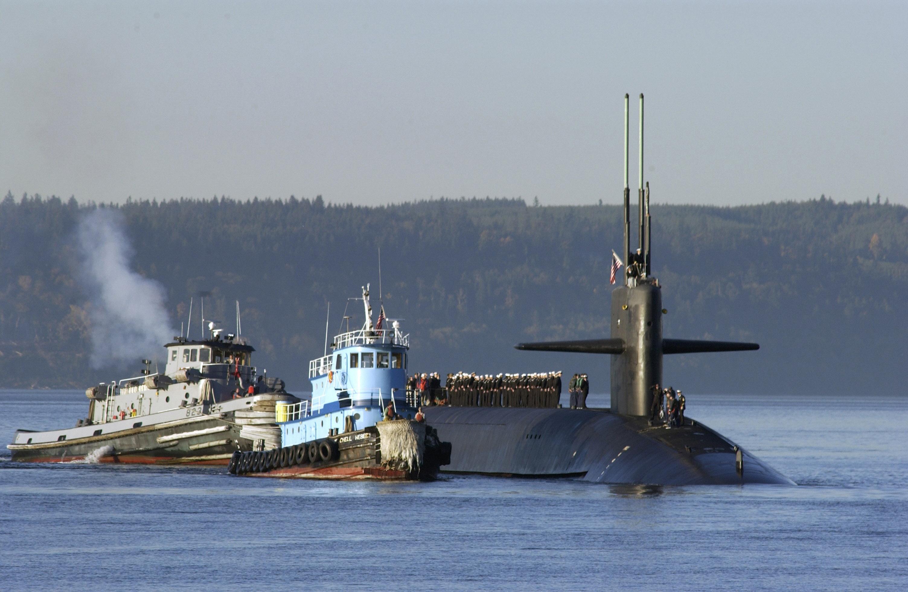 Michigan Submarine