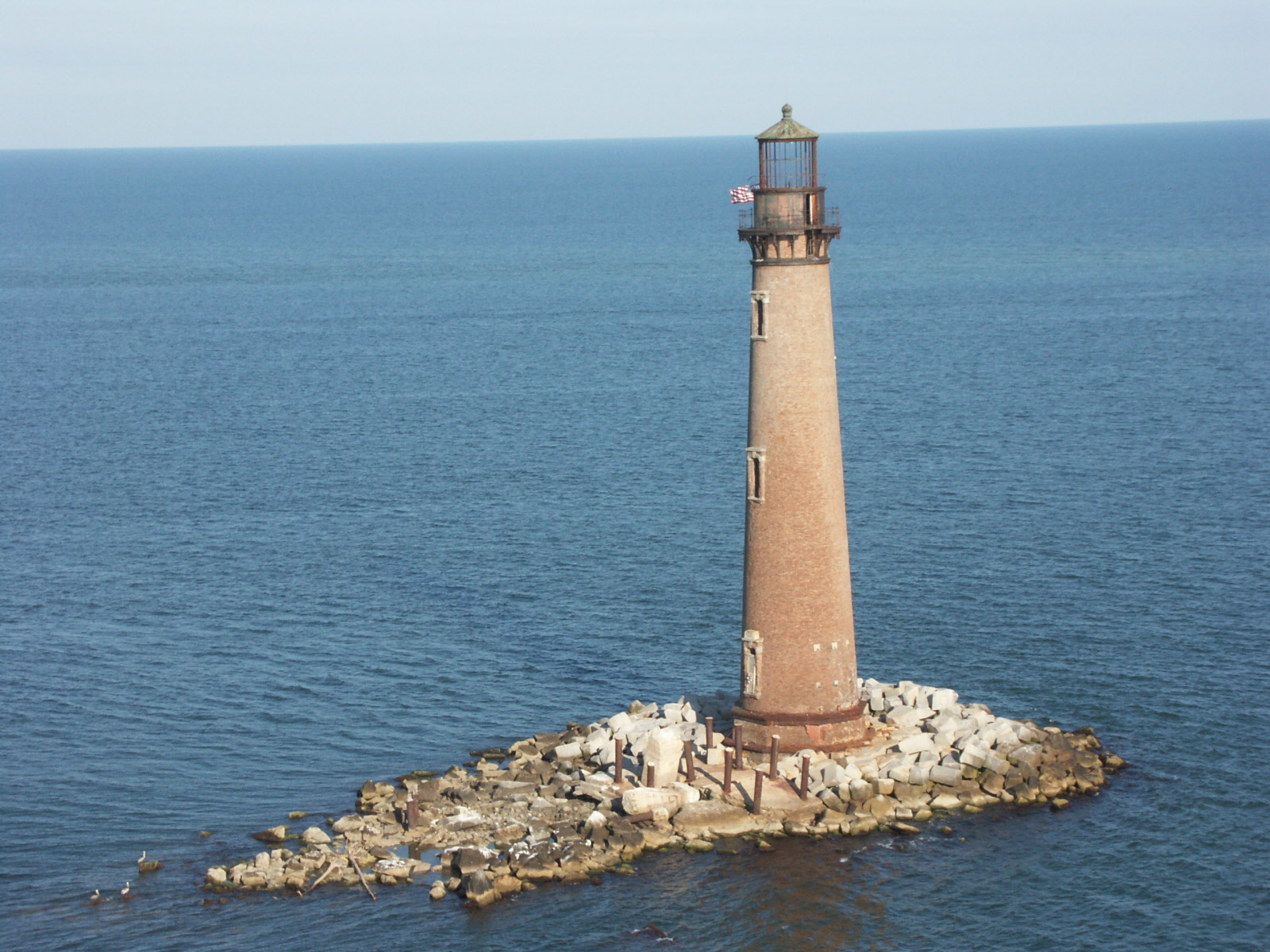 Sand island lighthouse for Fort morgan fishing charters